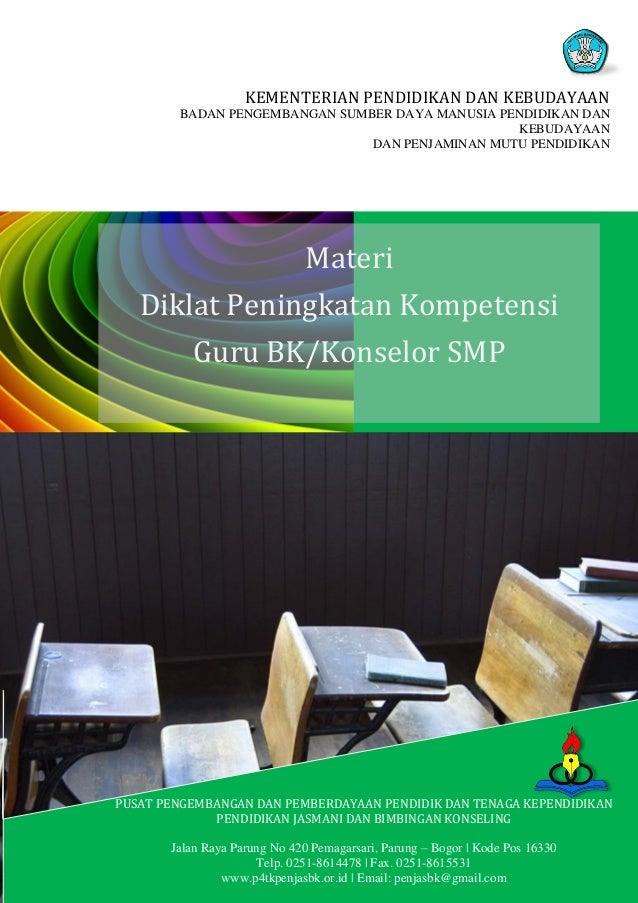 Kompilasi materi bk smp kurikulum 2013 print