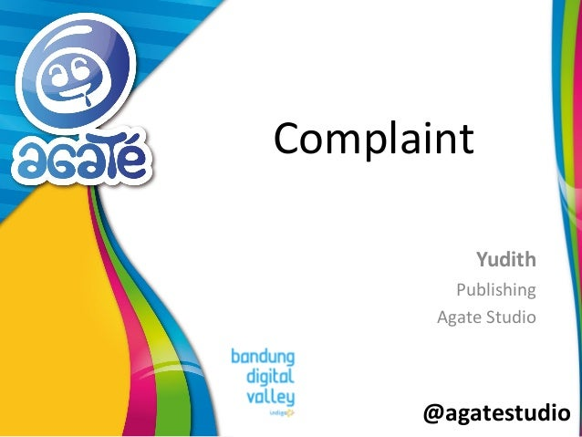 Complaint by Yudith