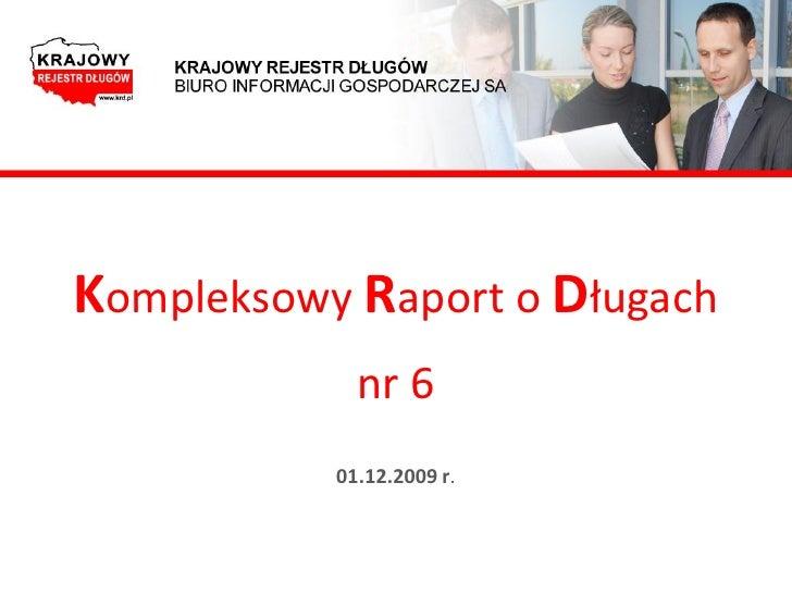 Raport KRD