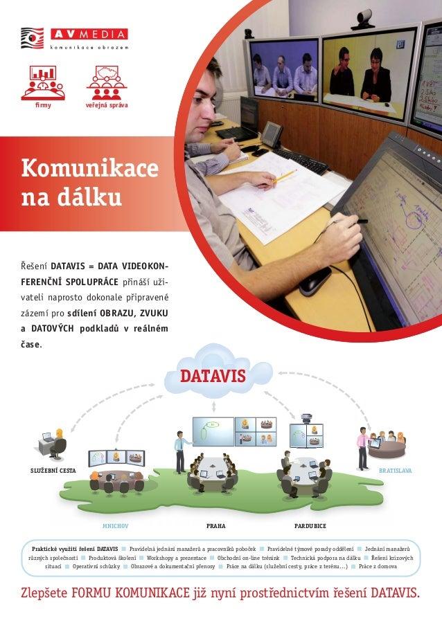 PRAHAMNICHOV SLUŽEBNÍ CESTA BRATISLAVA PARDUBICE DATAVIS přirozená komunikace_strana B_1C M Y K firmy Řešení DATAVIS = DAT...