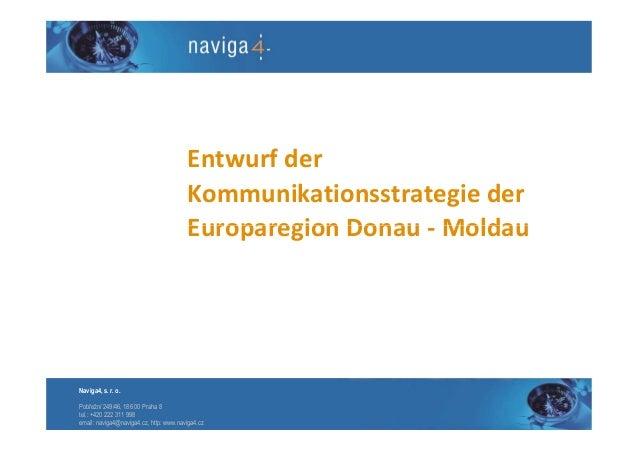 Entwurf der                                        Kommunikationsstrategie der                                        Euro...