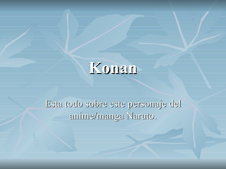 Konan