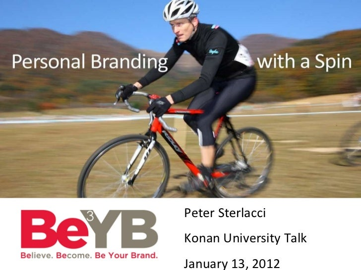 Personal Branding Presentation at Konan University, Japan