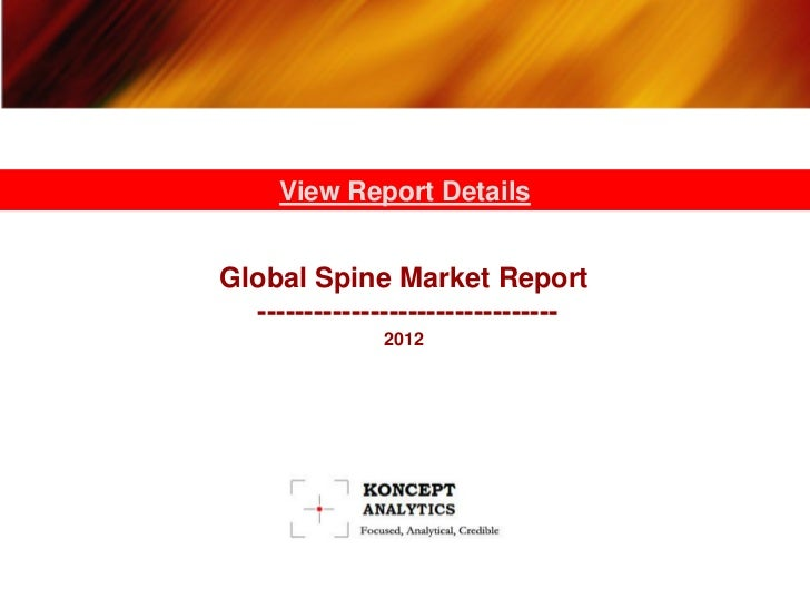 Koncept analytics   global spine market