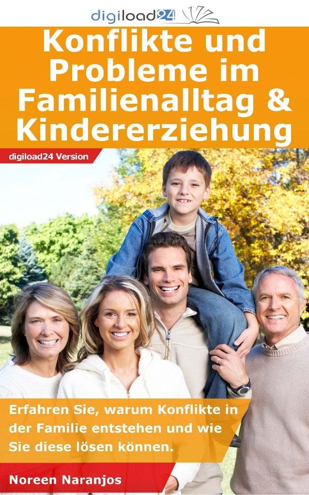 Konflikte und probleme im familienalltag & kindererziehung   leseprobe