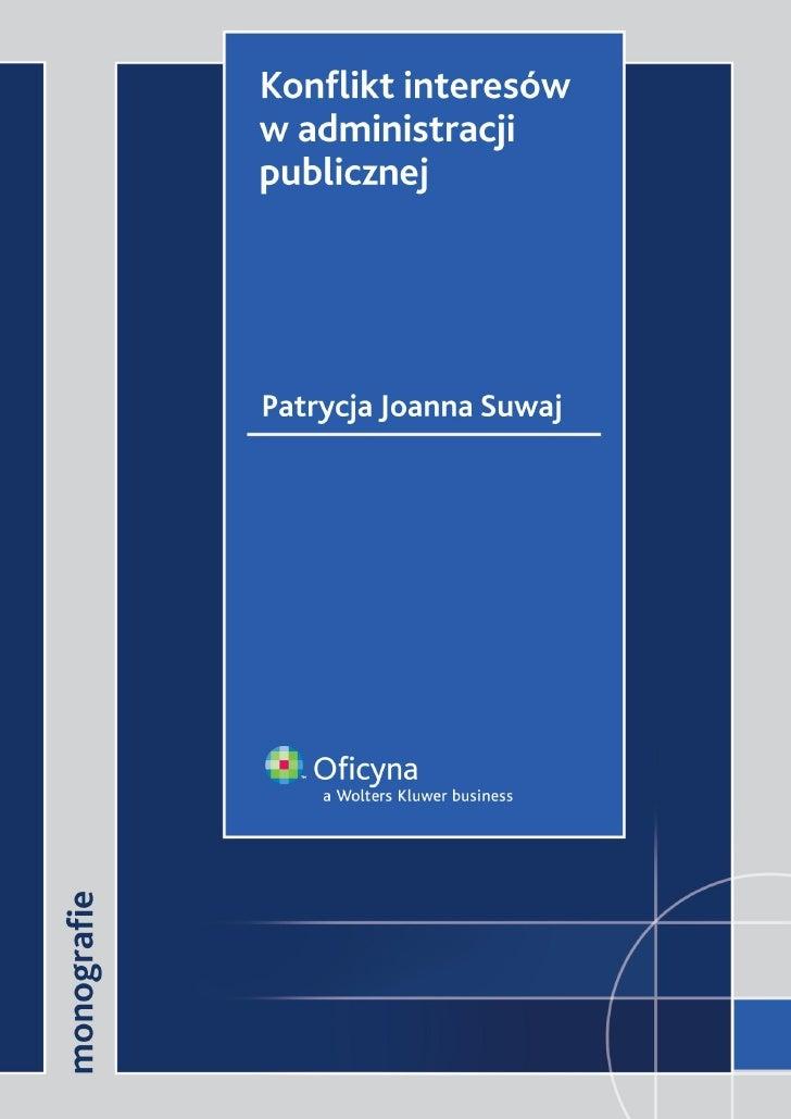 Konflikt interesów w administracji publicznej - ebook