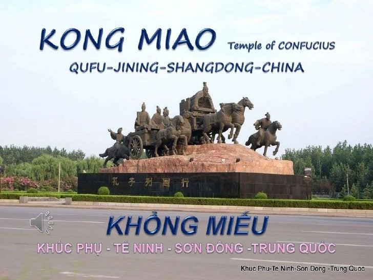 KONG MIAO-KHỔNG MIẾU Temple of Conficius