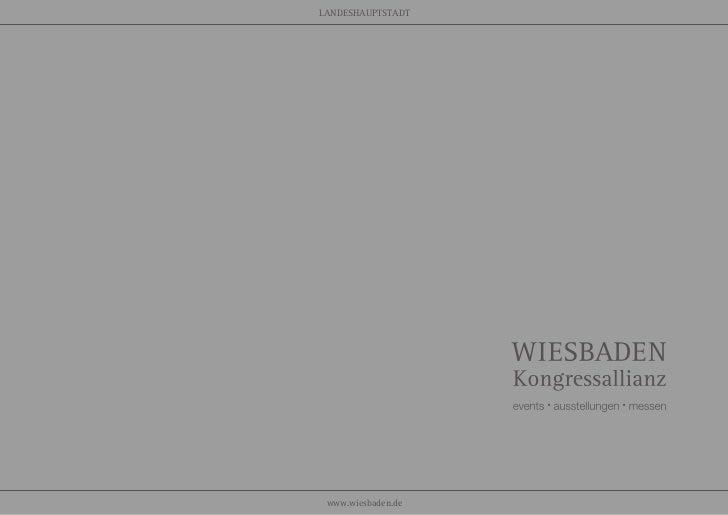 LANDESHAUPTSTADT www.wiesbaden.de