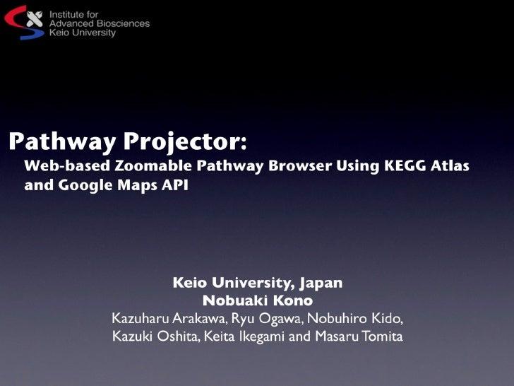 Kono bosc2010 pathway_projector