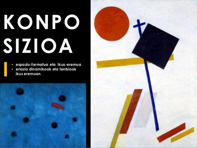 KONPO SIZIOA I • espazio-formatua eta ikus-eremua • erlazio dinamikoak eta tentsioak ikus eremuan