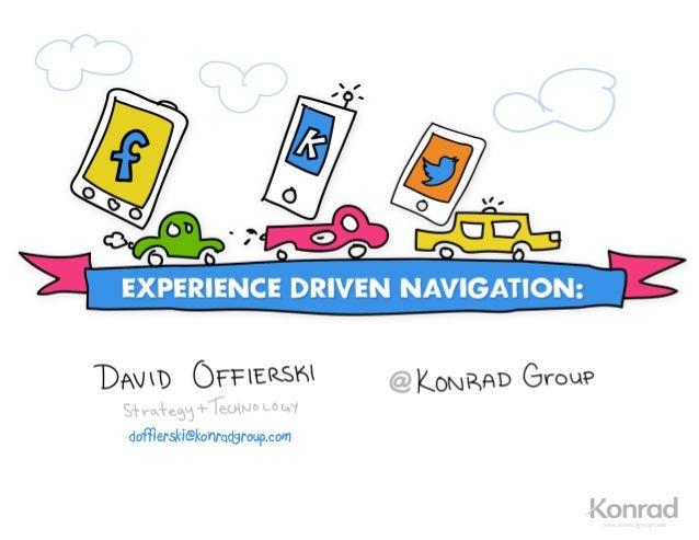 Konrad Group   Experience Driven Navigation   Oct 2012