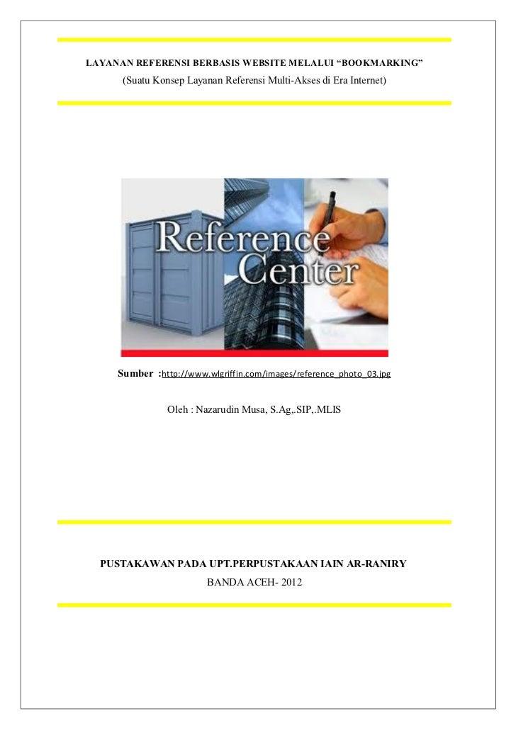 Konsep layanan referensi website