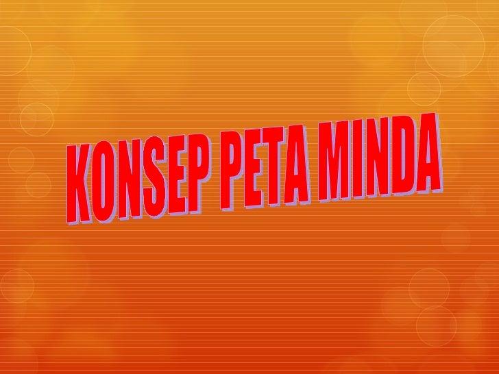KONSEP PETA MINDA