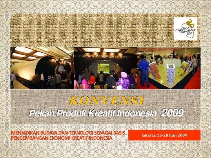 Pekan Produk Kreatif Indonesia 2009