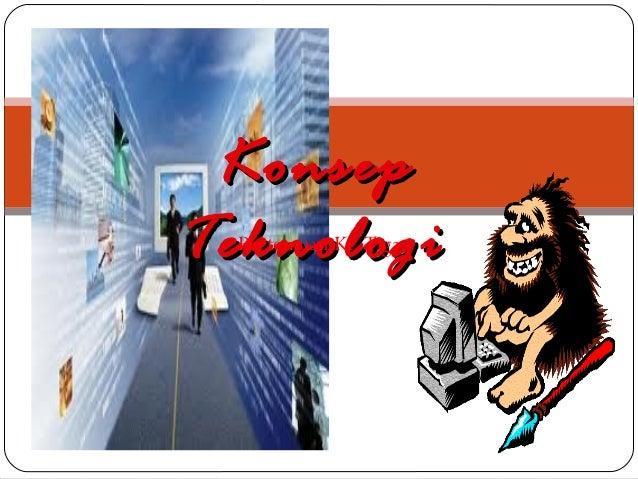 Konsep teknologi  pert 03 tek web