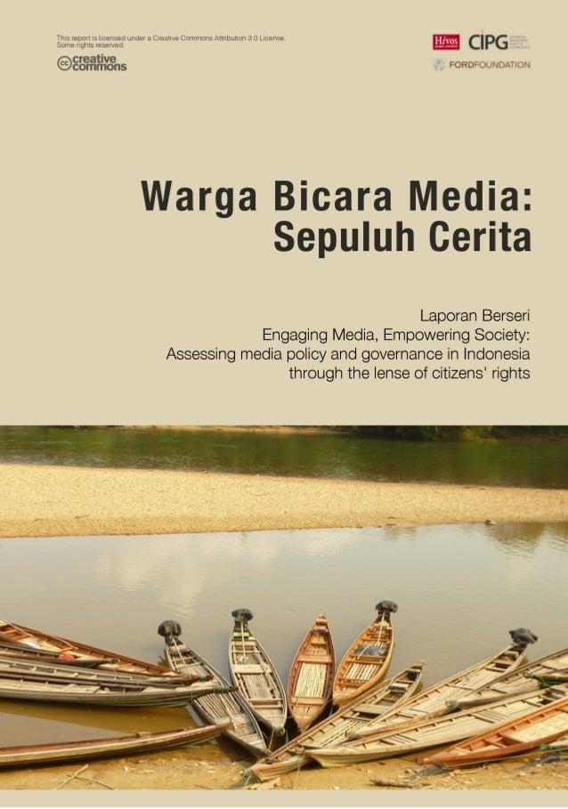 Konvergensi media di indonesia dan kesejahteraan jurnalis