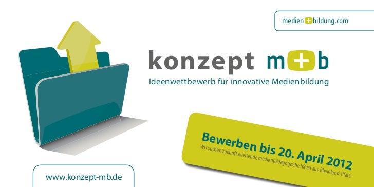 medien           bildung.com                    konzept                    Ideenwettbewerb für innovative Medienbildung   ...