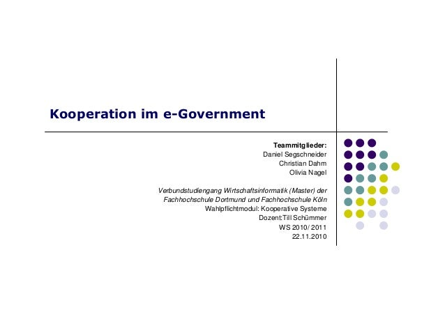 Kooperation eGovernment
