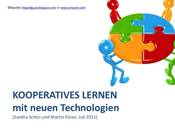 Kooperatives Lernen mit Technologien