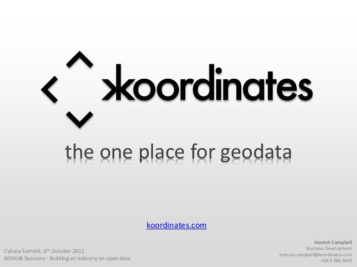 the one place for geodata                                                     koordinates.com                             ...