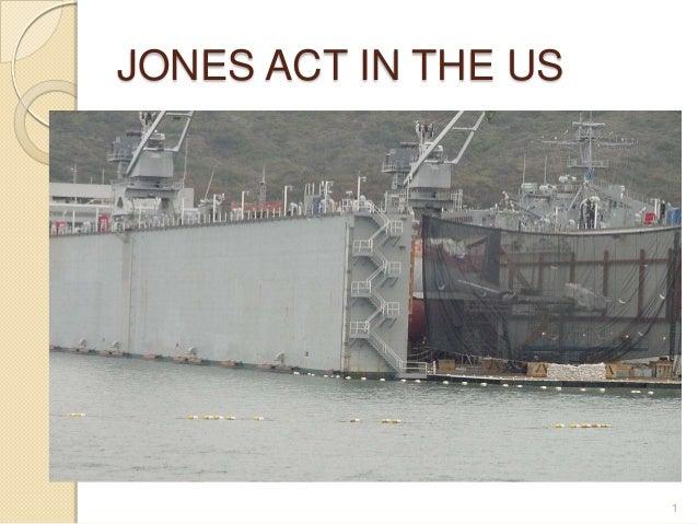 Kopyası jones act in the us
