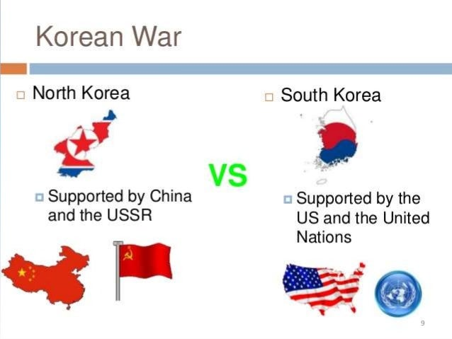 """an introduction to the history of the war between south and north korea The korean war also known as the """"forgotten war"""" was a war between north korea, south korea and the us together with the south koreans to help  - introduction ."""