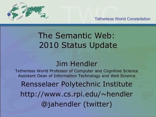 The Semantic Web: 2010 Update