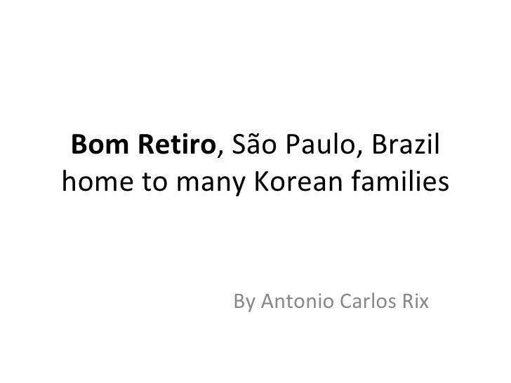 Koean presence in Brazil
