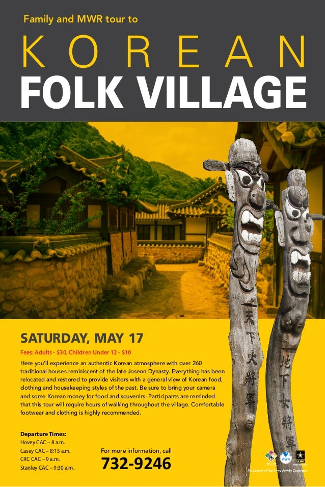 Here you'll experience an authentic Korean atmosphere with over 260 traditional houses reminiscent of the late Joseon Dyna...