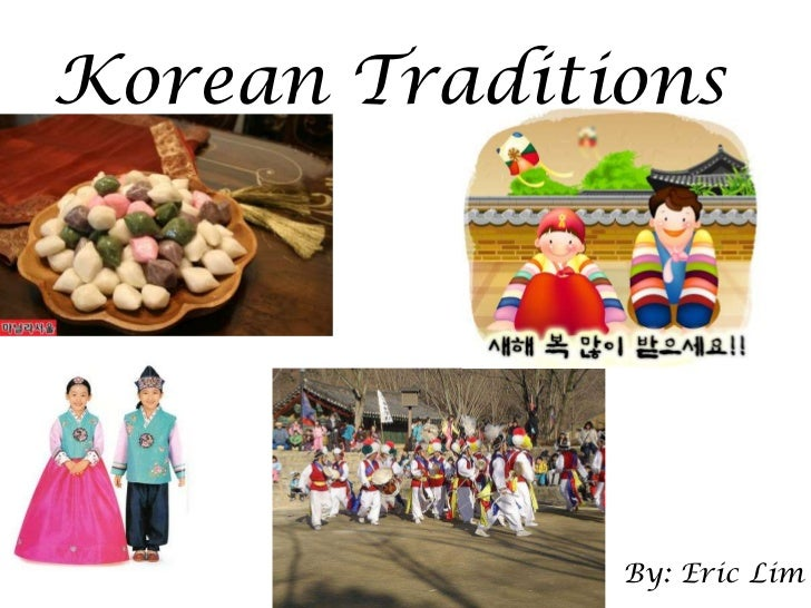 Korean culture dating customs