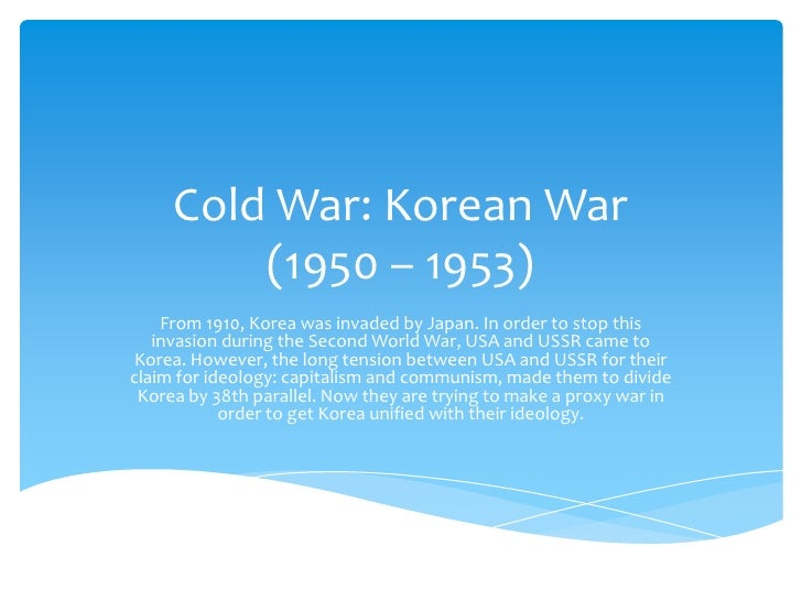 essay on why the cold war started