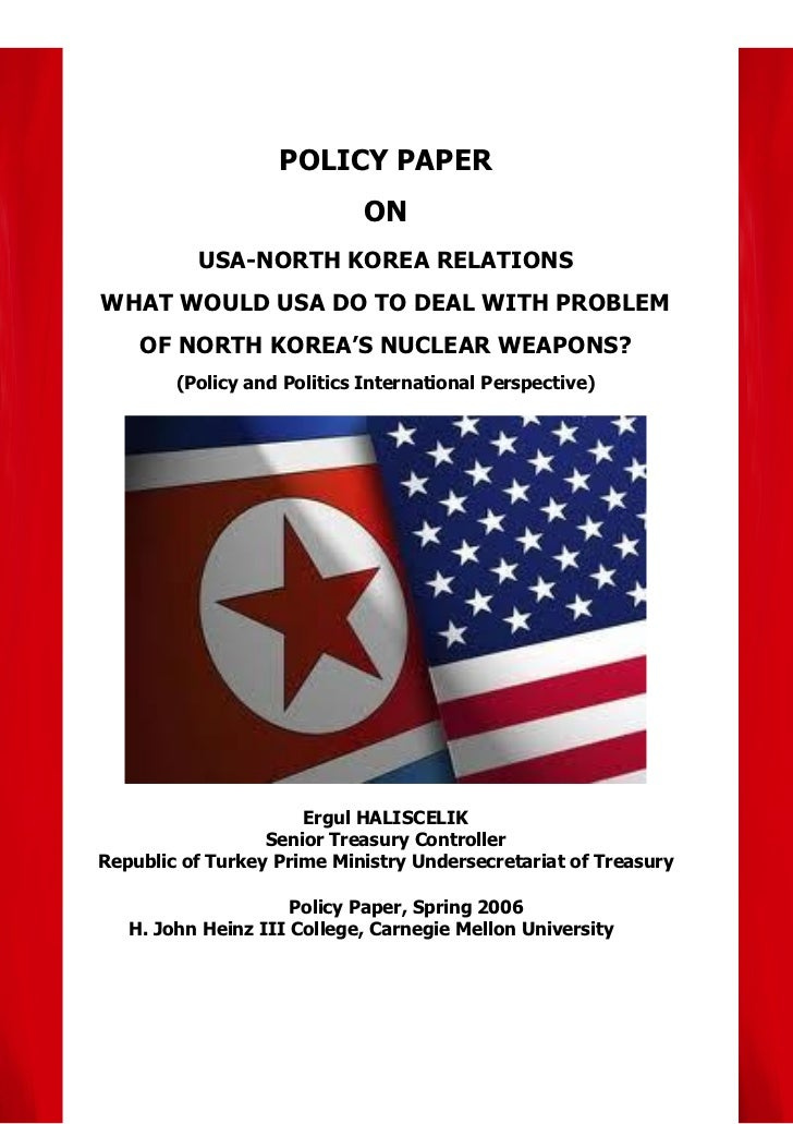 USA-North Korea Relations, What Would USA Do to Deal With Problem of North Korea's Nuclear Weapons?