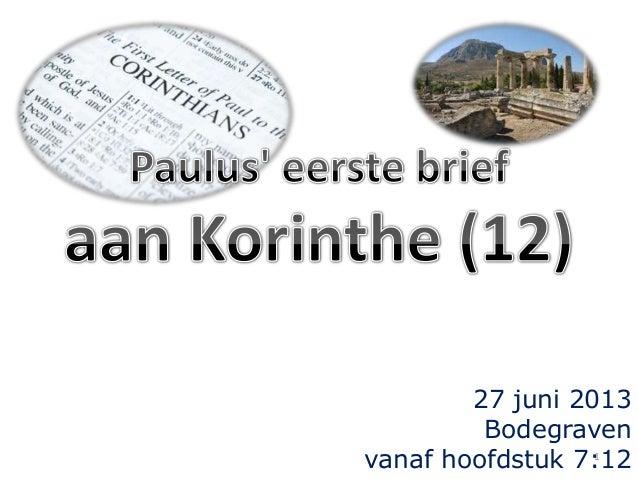 Korinthe 12