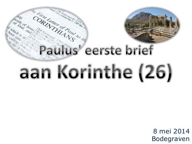 Korinthe studie 26