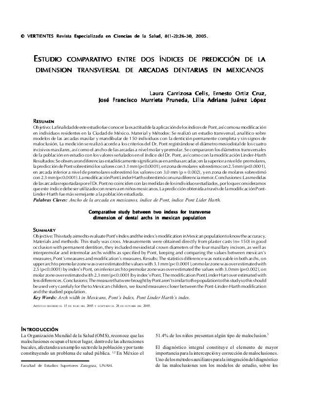 VERTIENTES 26 RRRRRESUMENESUMENESUMENESUMENESUMEN Objetivo:Lafinalidaddeesteestudiofueconocerlaexactituddelaaplicacióndelo...
