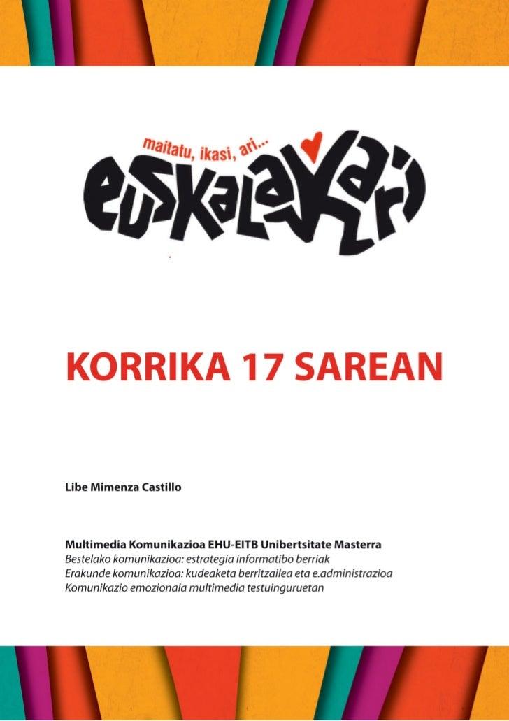 Korrika 17 sarean