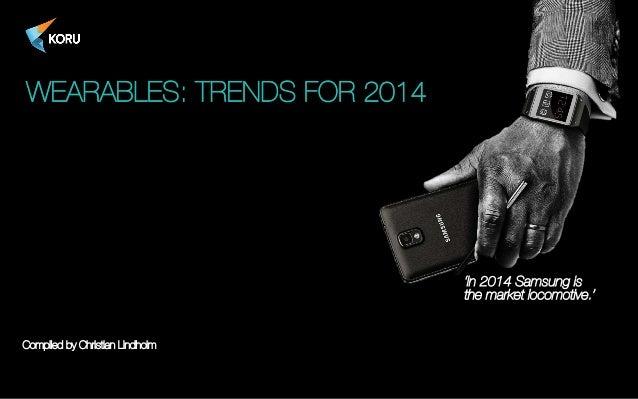 Koru wearable trends 2014