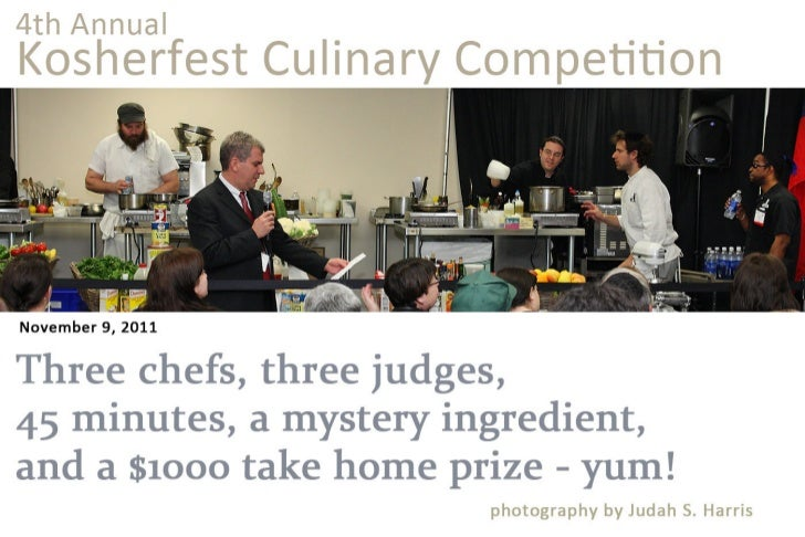 4th Annual Kosherfest Culinary Competition