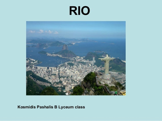 RIO Kosmidis Pashalis B Lyceum class