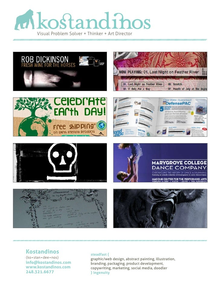 Kostandinos MiniBook | Portfolio