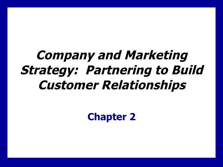 Partnering to Build Customer Relationships