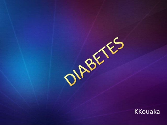 Kouaka diabetes teaching-ptt