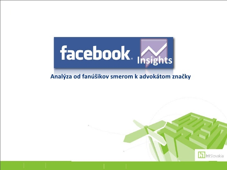 Facebook insights - Katarina Kovacova