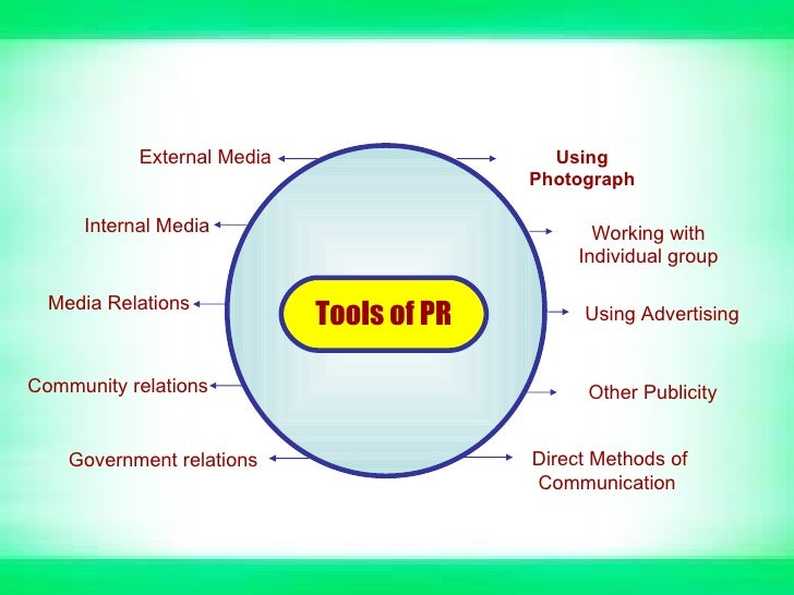 public relations differences from the other