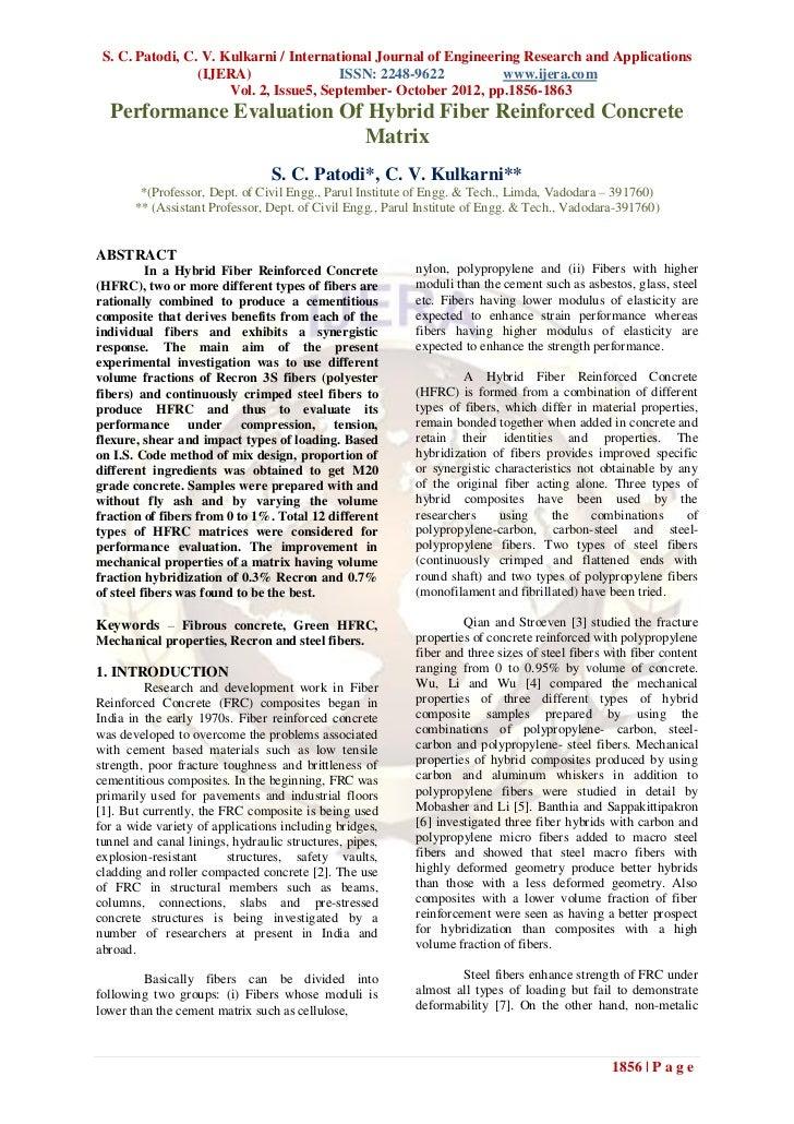 S. C. Patodi, C. V. Kulkarni / International Journal of Engineering Research and Applications                 (IJERA)     ...