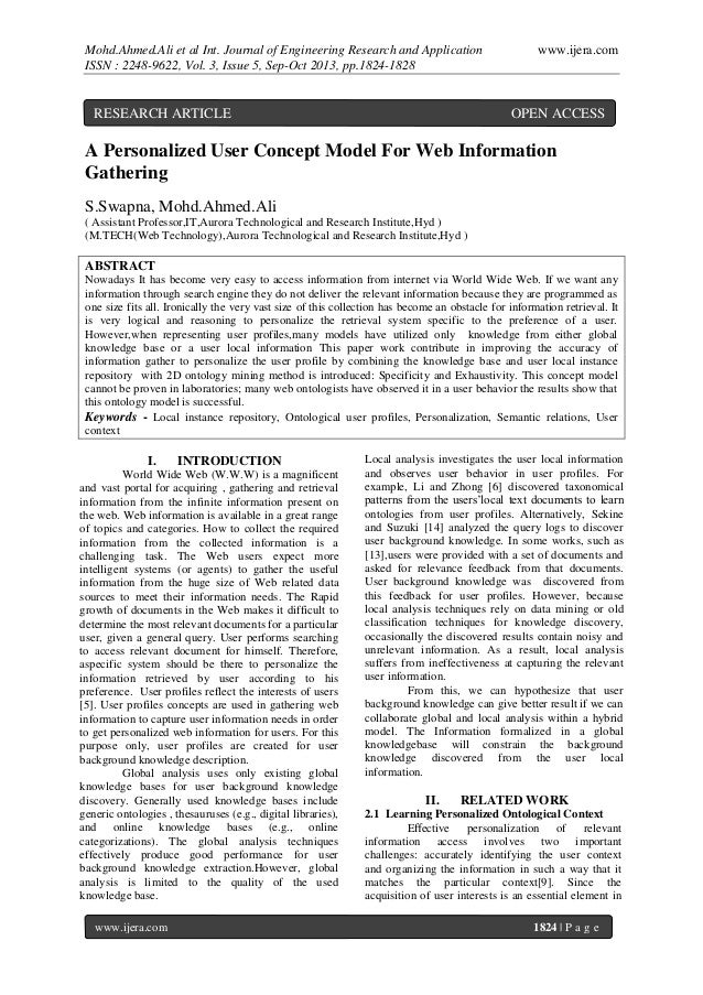 Mohd.Ahmed.Ali et al Int. Journal of Engineering Research and Application ISSN : 2248-9622, Vol. 3, Issue 5, Sep-Oct 2013,...