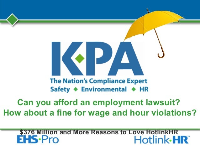 Can you afford an employment lawsuit?