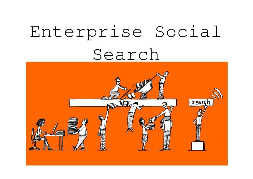 Enterprise Social       Search