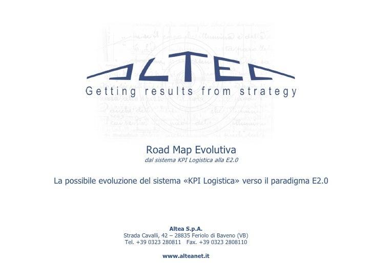 Kpi logistics system e2 0