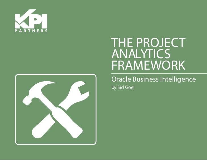 KPI Partners E-Book: The Project Analytics Framework